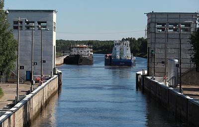 Объем перевозок судами Северо-Западного пароходства в I полугодии вырос на 5%