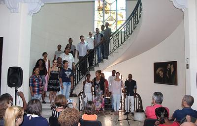 На Кубе состоялся концерт, посвященный предстоящему Всемирному фестивалю молодежи