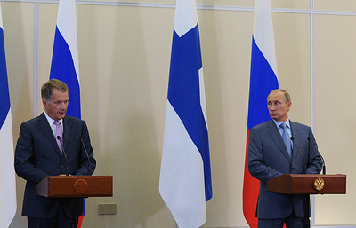 Пресс-конференция Владимира Путина и Саули Ниинистё. Видеотрансляция
