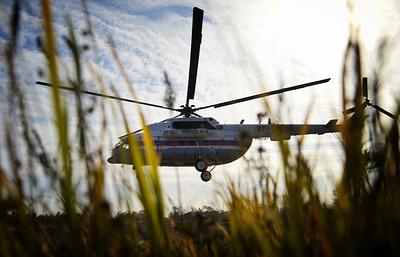 Вертолет МЧС России отправился в Сербию, где поможет тушить природные пожары