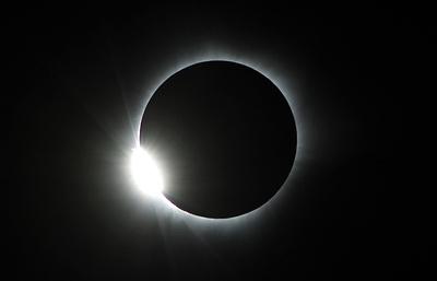 Полное солнечное затмение в США. Видеотрансляция