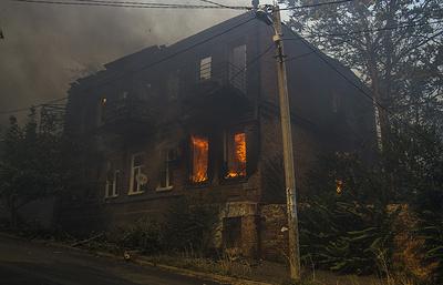Полиция возбудила дело в связи с пожаром в Ростове-на-Дону