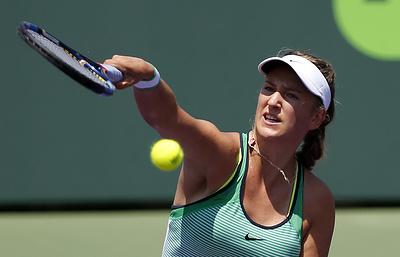 Белорусская теннисистка Азаренко снялась с Открытого чемпионата США