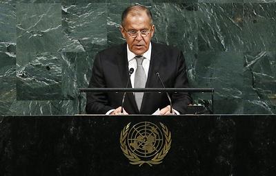 Сделать миропорядок справедливым и демократическим: выступление Лаврова на ГА ООН