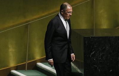 Лавров рассчитывает на конструктивный диалог по размещению миссии ООН в Донбассе