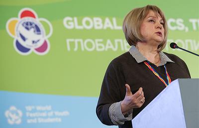 Памфилова рассказала, что в юности мечтала стать журналистом