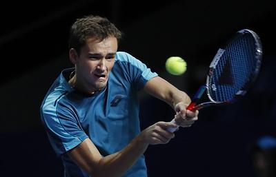 Теннисист Медведев остался доволен своим выступлением на «ВТБ Кубке Кремля»