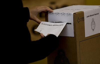 Сторонники правительства Аргентины лидируют на парламентских выборах