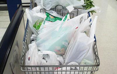 Гринпис России предложил российским супермаркетам отказаться от одноразовых пакетов