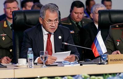 РФ и Филиппины подписали соглашение о военно-техническом сотрудничестве