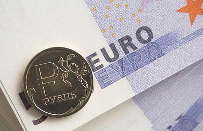 Курс евро на торгах Московской биржи превысил 71 рубль