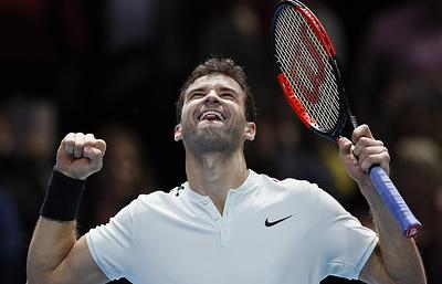 Димитров выиграл у Сока в полуфинале Итогового турнира ATP