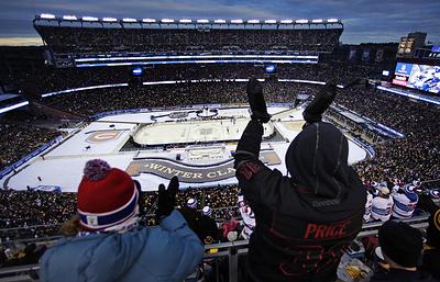 """""""Чикаго"""" сыграет с """"Бостоном"""" в матче """"Зимней классики"""" НХЛ 2019 года"""