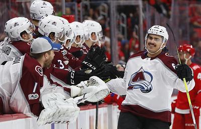 """Гол Якупова помог """"Колорадо"""" победить """"Детройт"""" в матче НХЛ"""