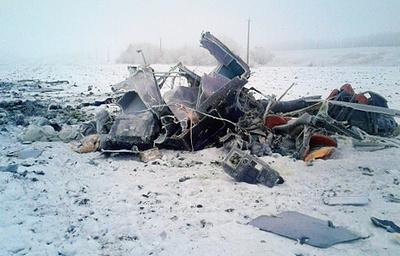 При крушении вертолета в Тамбовской области погиб учредитель «Сталь-М»