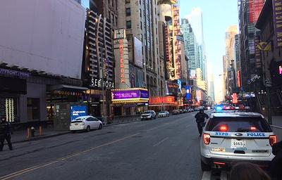 При взрыве в Нью-Йорке пострадали четыре человека