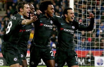«Челси» победил «Хаддерсфилд» в матче чемпионата Англии по футболу