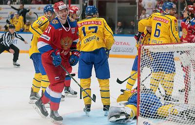 Хоккеист Лундквист считает, что шведы не показали максимума в матче со сборной России