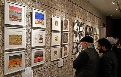Выставка работ индийских художников к 70-летию дипотношений с Россией открылась в Нью-Дели