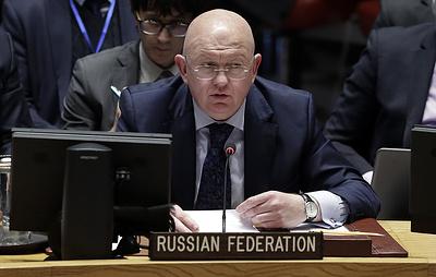 Небензя обвинил США в подрыве авторитета СБ ООН в ответ на созыв заседания по Ирану