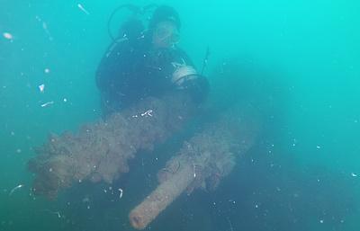Крымские археологи идентифицировали потопленный в 1943 году немецкий пароход
