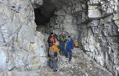 Участники спелеологической экспедиции нашли в горах КБР Огненную пещеру