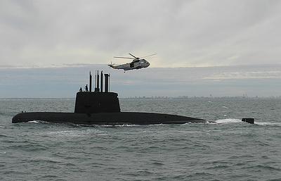 Российские специалисты вернутся в зону поиска аргентинской подлодки San Juan