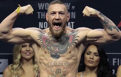 Макгрегор лишен титула UFC в легком весе