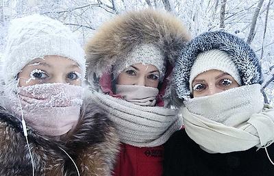 Как Якутия живет в 60-градусный мороз