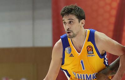 Баскетболист «Химок» Швед назван самым ценным игроком 18-го тура Евролиги
