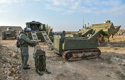«Обкатка» Сирией: каких роботов получат военные саперы России