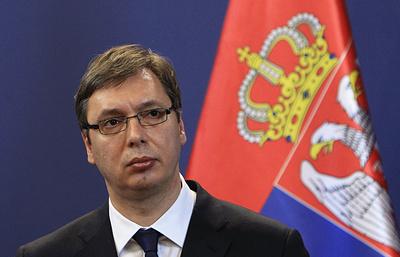 Посетивший Косово президент Сербии обещал деньги на детсады, но не на оружие