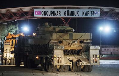 СМИ: турецкий город Килис подвергся ракетному обстрелу с сирийской территории