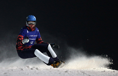 Сноубордистка Заварзина завоевала бронзу на этапе КМ в Словении
