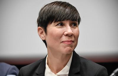Глава МИД Норвегии считает, что Арктика остается регионом стабильности и сотрудничества
