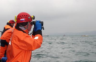 В районе поисков судна «Восток» в Японском море нашли похожий на плот предмет