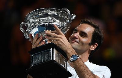 Федерер сместил россиянина Медведева с первого места чемпионской гонки ATP