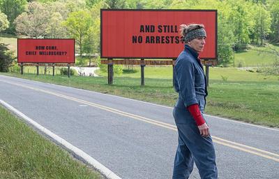«Три билборда на границе Эббинга, Миссури»: что за фильм получит главный «Оскар-2018»