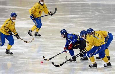 Тренер: сборной Казахстана по бенди не хватило скорости в полуфинале ЧМ против шведов