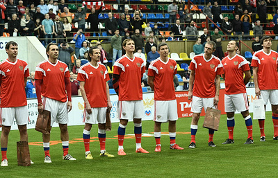 Сборные России и Португалии сыграют в финале Кубка легенд по футболу