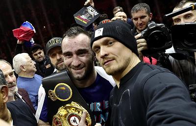 Промоутер: Гассиев победит Усика в финале Всемирной суперсерии бокса