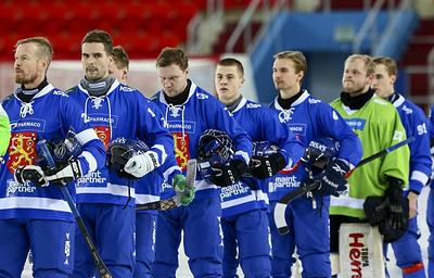 Сборная Финляндии завоевала бронзу чемпионата мира по хоккею с мячом