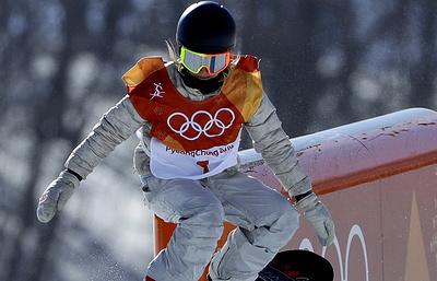 Сноубордистка Андерсон из США стала двукратной олимпийской чемпионкой в слоупстайле