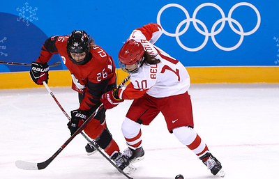 Белякова: российские хоккеистки боролись в матче ОИ с командой США, несмотря на счет 0:5