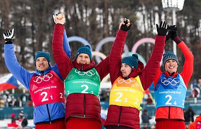 Вяльбе заявила, что не надеялась на золото в лыжной эстафете на ОИ