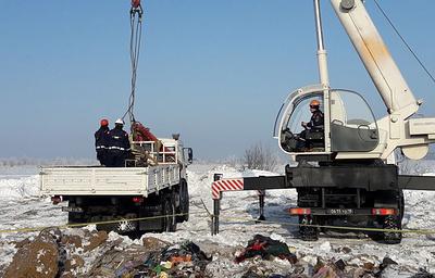 СК: все следственные действия на месте крушения Ан-148 в Подмосковье завершены