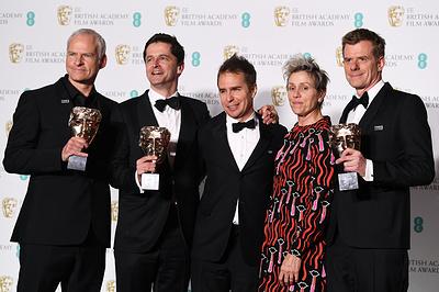 """Драма """"Три билборда на границе Эббинга, Миссури"""" удостоена премии BAFTA как лучший фильм"""