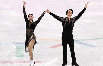 Канадцы Вирчу и Моир установили мировой рекорд в короткой программе в танцах на льду