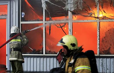 Пожар в типографии Екатеринбурга площадью более 70 кв. м. потушен