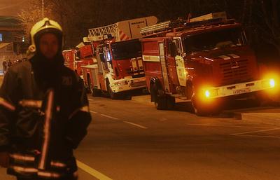 Источник: здание СК по Московской области загорелось в центре Москвы